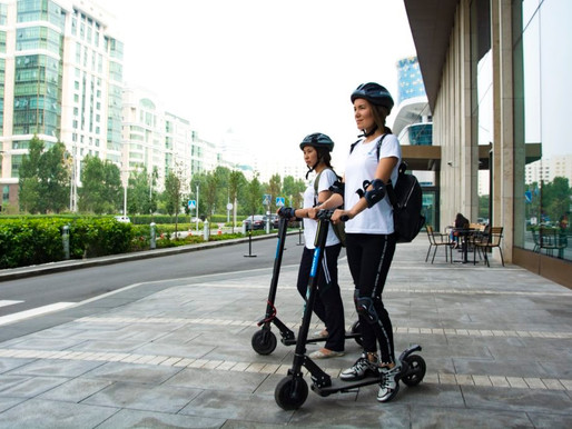 Electric Scooter, the future of city travel