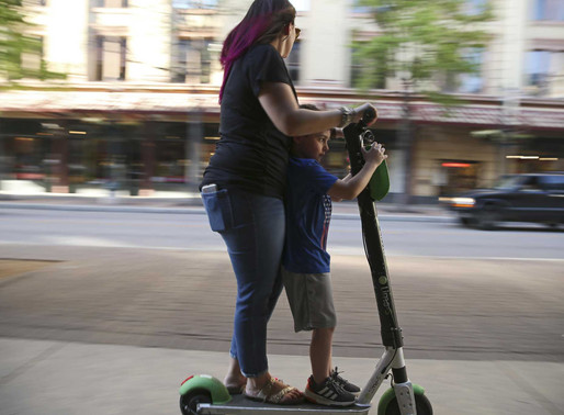 Electric scooters for heavy people