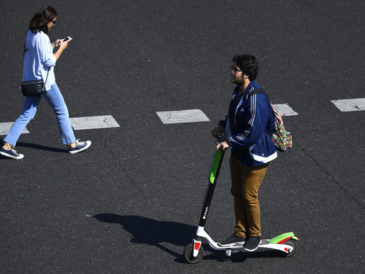 Usage of Electric Scooter is rising in Covid-hit London despite legal obstacles