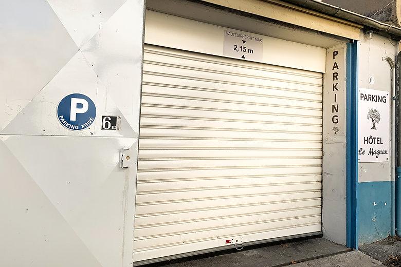 Hôtel à Avignon - Parking