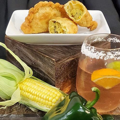 Corn & Poblano Empanadas (6 per order)