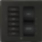 Interrupteur connecté  Crestron