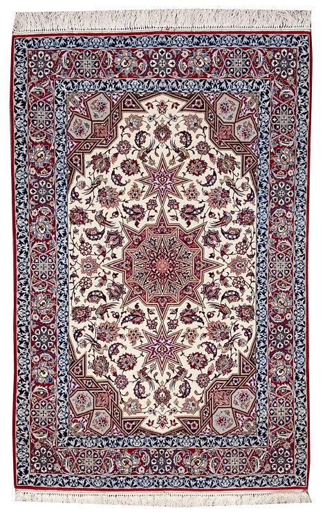 """Isfahan - 3'6"""" x 5'4"""""""