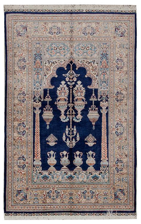 "Anatolian Prayer Rug - 3'10"" x 6'1"""