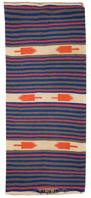 "Navajo Flatweave - 26"" x 63"""