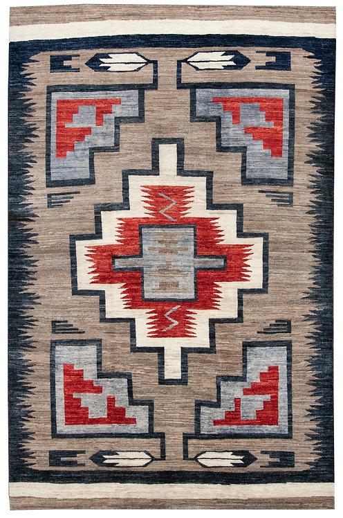 """Modern Navajo - 5'9"""" x 8'9"""""""