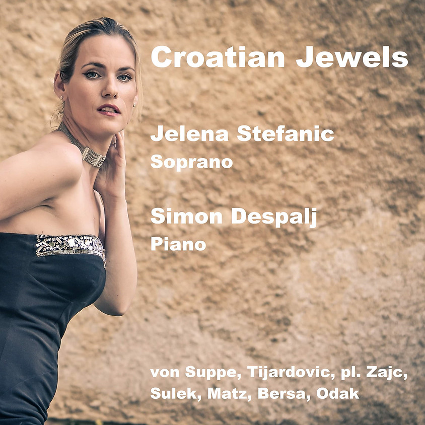 Jelena STEFANIC, soprano et Simon DESPALJ, piano - CONCERT