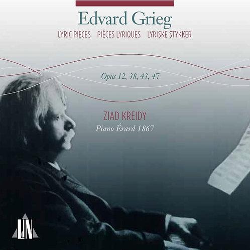 Grieg · Pièces Lyriques opus 12, 38, 43, 47