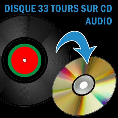 Disques Vinyl à numériser sur CD