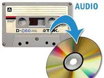 Cassette Audio à numériser sur CD
