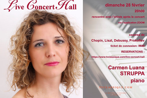 Carmen Luana STRUPPA -piano