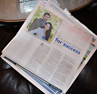The Prescription for Sucess, The Geiger Team featured in Florida Today