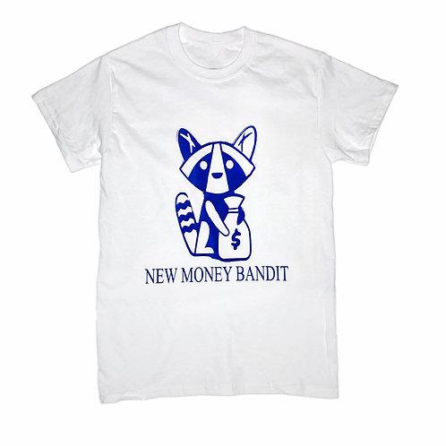 Blue NMB Money Bag T-Shirt