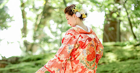 金沢 結婚式 和装 白無垢 色打掛 レンタル