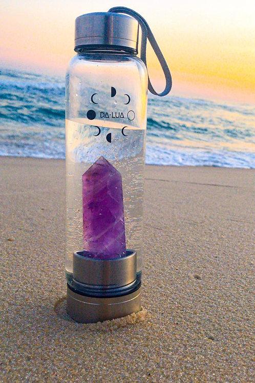Garrafa de Cristal Da Lua - Ametista