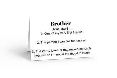 Brother You Are