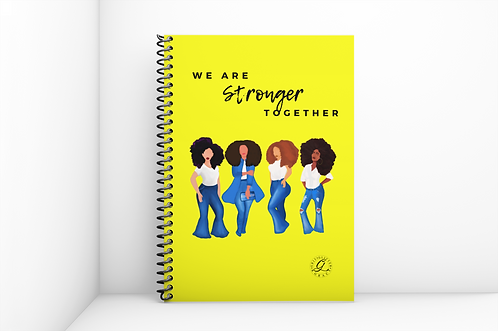 Circle Of Sistas Journal (Yellow)