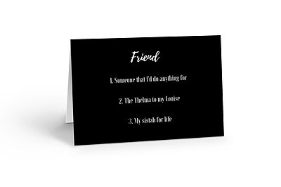 Friend Goals