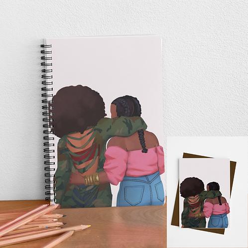 Soul Sister (1) Card & Journal Bundle