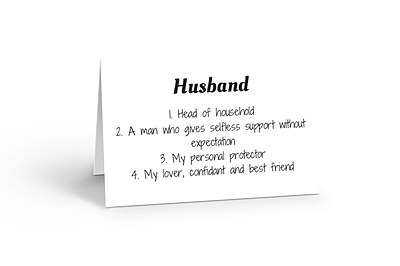 Husband You Are