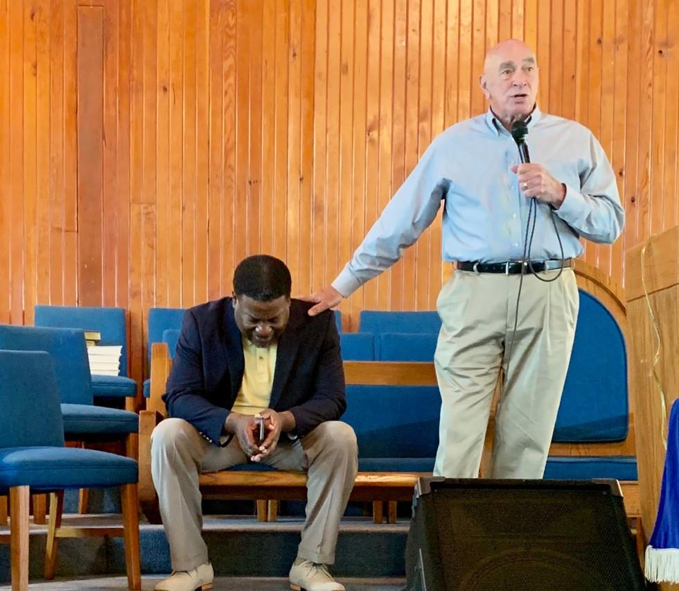 Bill Preaching in Mississippi