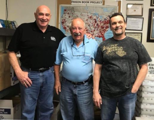 Bill, Ray Hall, and Ray Stribling
