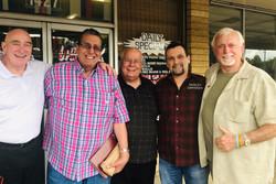 Bill, Bernie, Gary, Ray, and Jack