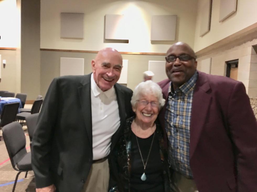 Bill, Mother Billie, and Spencer Lindsay