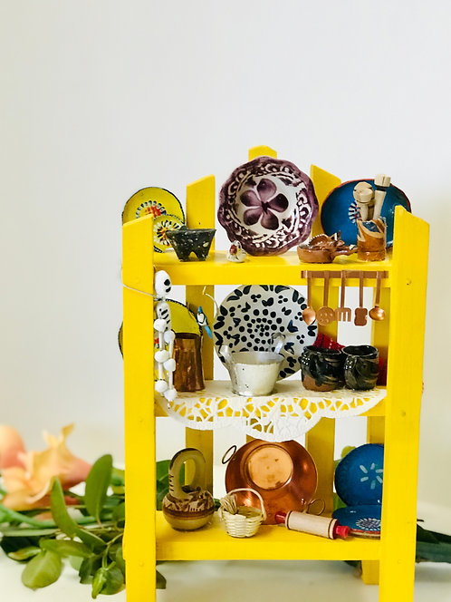 Miniature Kitchen Shelf
