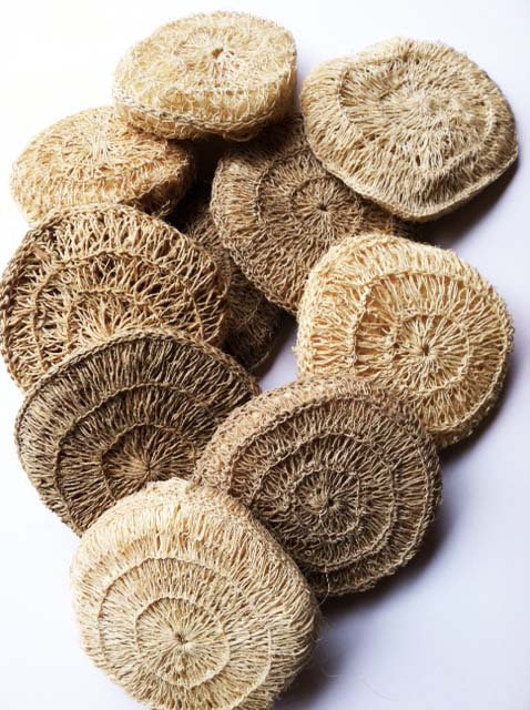 Round Rugged Woven Scrubber