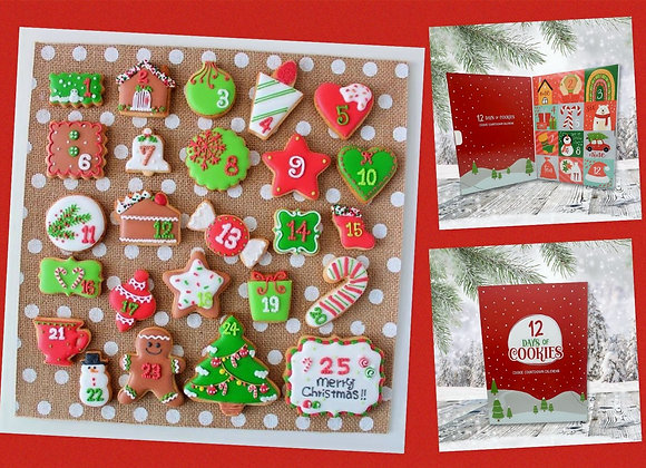 Twelve Days of Cookie Advent Calendar