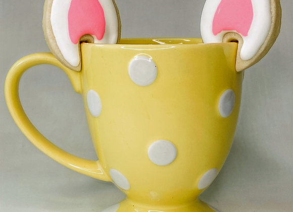 Easter Bunny Ear Mug Cookies - ADD ON ITEM ONLY