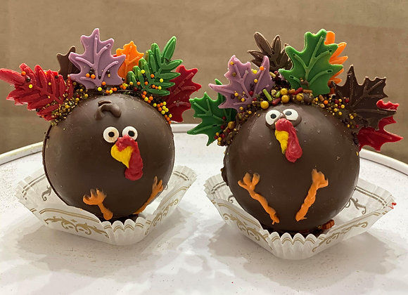 Set of two: Salted Caramel with Hot Chocolate Turkey Bombs