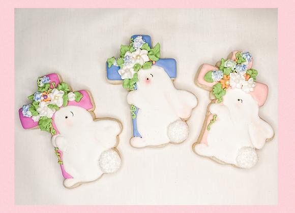 The Cross & Bunny Cookie