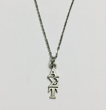 Alpha Sigma Tau AET AST Sorority Lavaliere Necklace