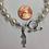 Thumbnail: Zeta Tau Alpha Sorority Greek Freshwater Pearl Bracelet w/Toggle Clasp