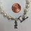 Thumbnail: Sigma Kappa Freshwater Pearl Bracelet w/Toggle Clasp - officially licensed