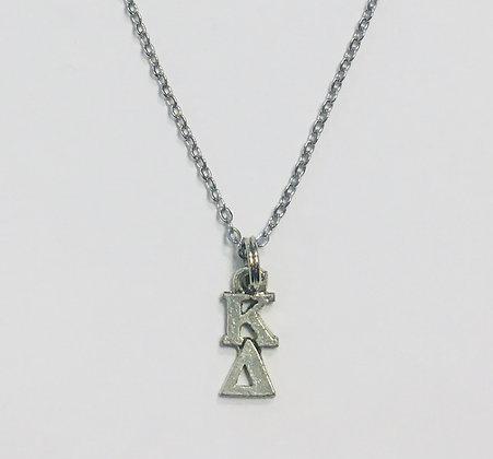 Kappa Delta KD Sorority Lavaliere Necklace