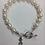 Thumbnail: Chi Omega Sorority Greek Freshwater Pearl Bracelet w/Toggle Clasp