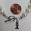 Thumbnail: Kappa Delta Sorority Greek Freshwater Pearl Bracelet w/Toggle Clasp
