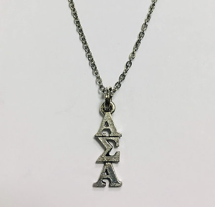 Alpha Sigma Alpha ASA AEA Sorority Lavaliere Necklace