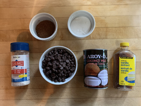 French Foods with a Twist: Vegan Chocolate Fondue