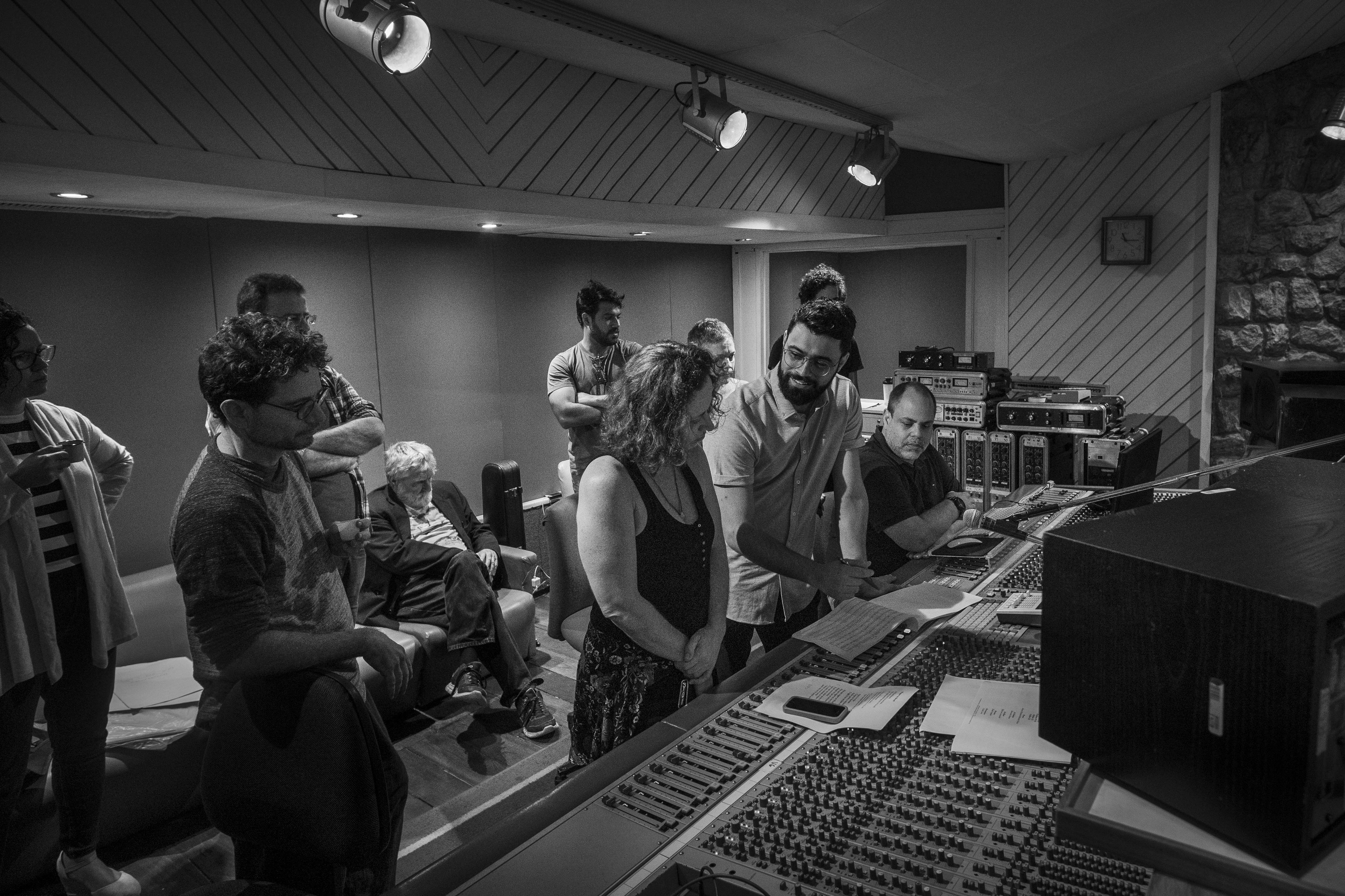 Gravando Cordas - Projeto Oleg Tumanov