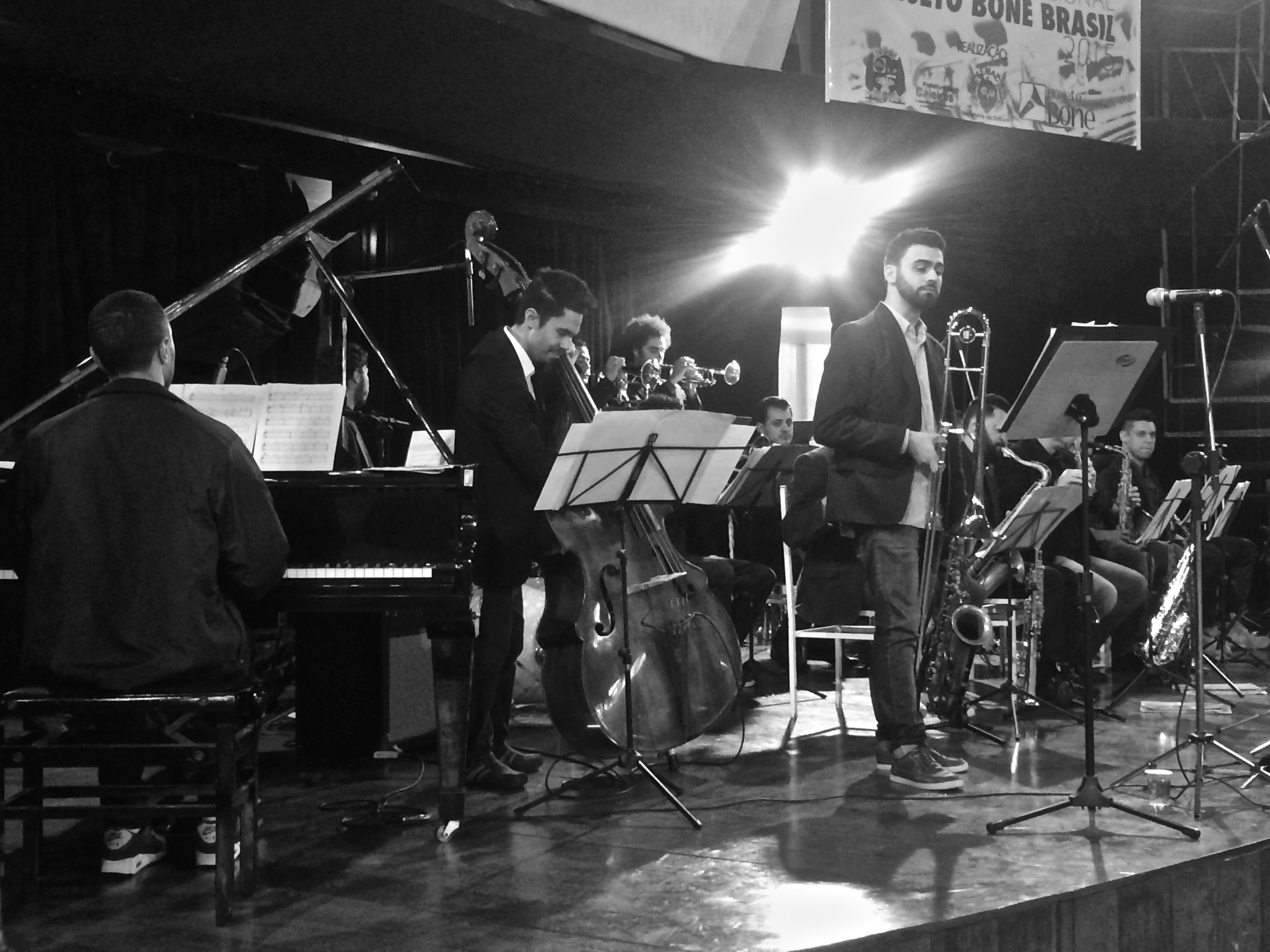 Concerto com a Speakin Jazz Big Band