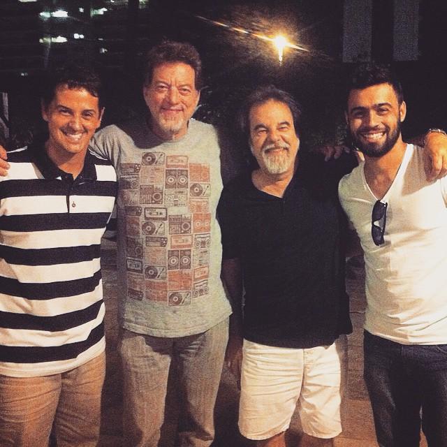 Bruno, Léo Gandleman, Moogie e R.R