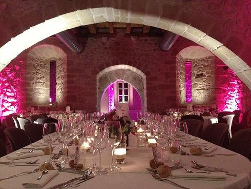 lumiere et decorations mariage