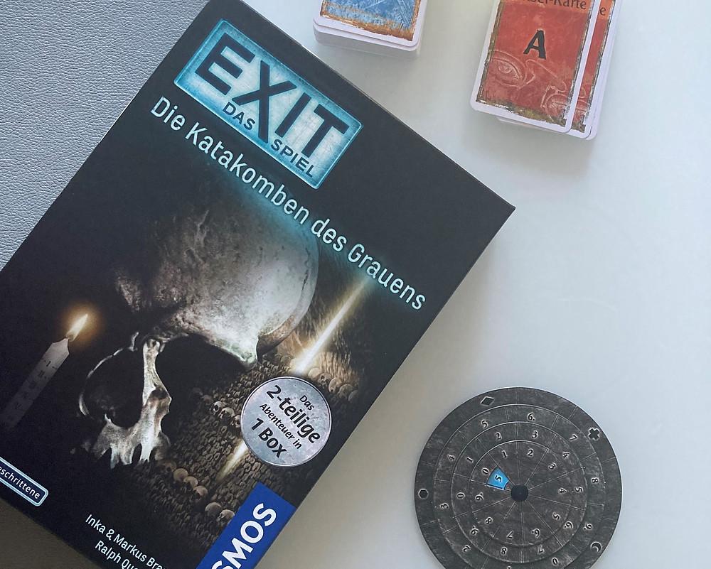 EXIT Kosmos Escape Game Katakomben des Grauens Produktbild