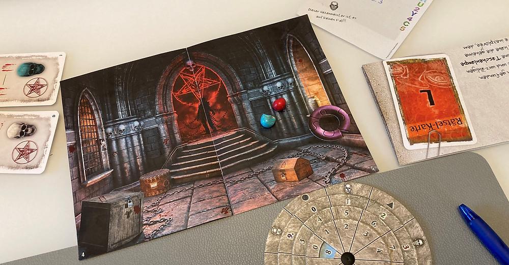 EXIT Kosmos Escape Game Katakomben des Grauens Review Erfahrungsbericht