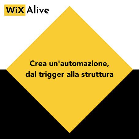 WiX Automations: sfrutta le automazioni di Wix per il tuo business