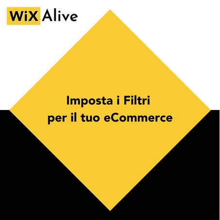Come impostare i filtri del tuo eCommerce